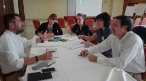 Varazdin meeting / The partners at work